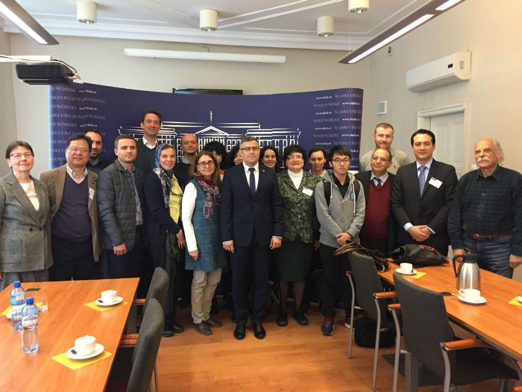 7th International Week Katowice Poland Mayor